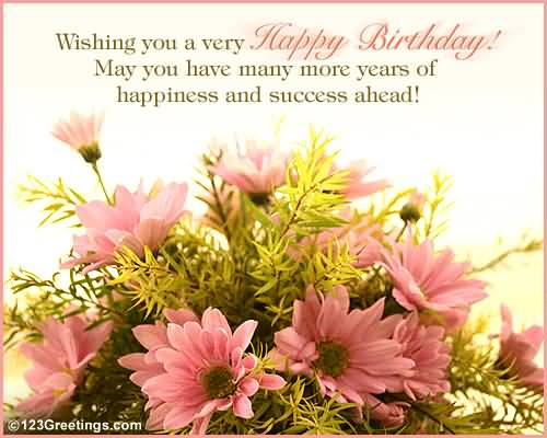 Wishing You A Very Happy Birthday Colleague Dreams Come Ture