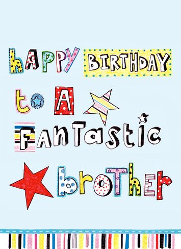 25 wonderful happy birthday brother greetings e card images picsmine wonderful birthday wishes e card for fantastic brother graphic bookmarktalkfo Choice Image