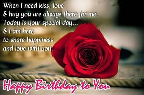 Wonderful Greeting For Happy Birthday Boyfriend
