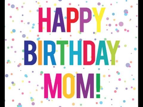 Wonderful Happy Birthday Mom Greeting Picture
