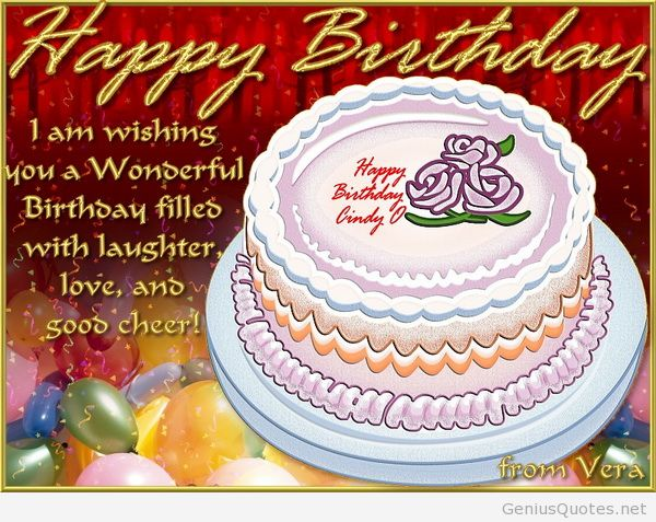 happy birthday i am wishing non a wonserful birthday filles with laughter love, and sood cheer.