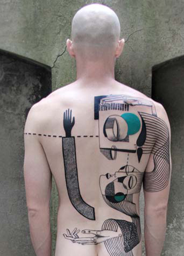 incredible Expanded Eye Collab Back on back With colourful ink For Man And Woma