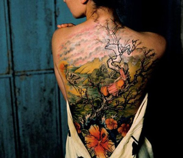Lovely Tree Of Life Tatoos For Women On Back Woman Tattoo
