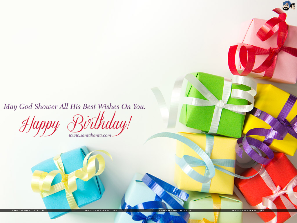 may god shower all his best wishes on you. happy birthday.
