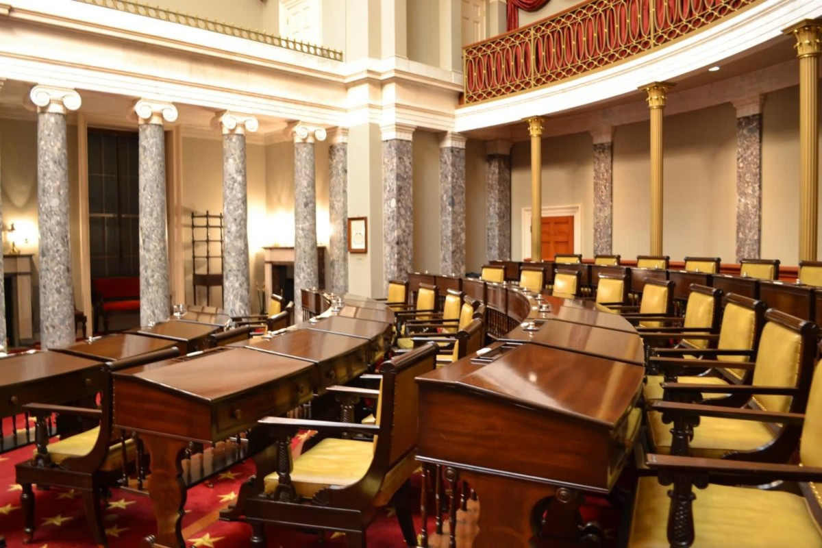 Mind Blowing Photo Of Old Senate Chambers Picture Inside The United States Capitol