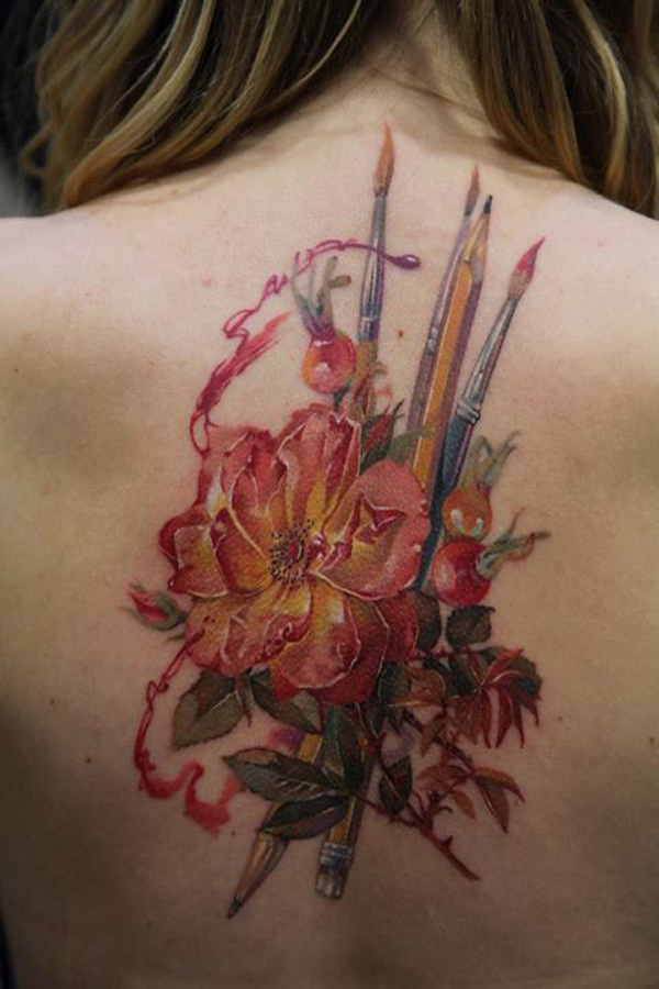 Most Amazing Look Like Painting Tattoos For Women