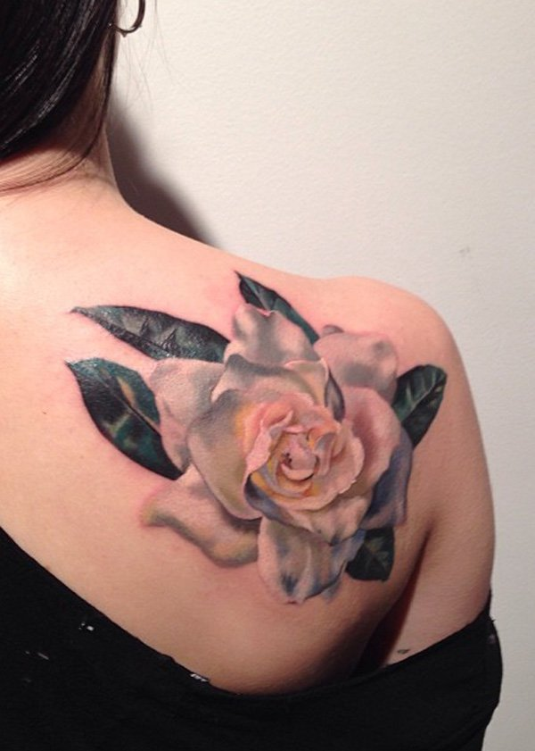 Most Wonderful 3D Tattoos For Women On Back