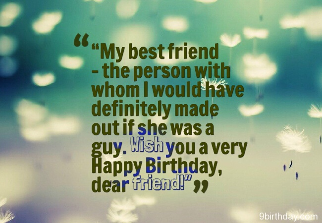 Happy Birthday Quotes For Best Friend ~ Most amazing birthday quotes for friends loved ones