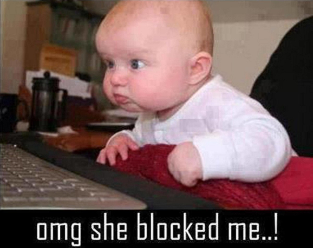 Omg She Blocked Me