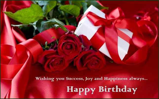 wishing you success,joy and happiness always.. happy birthay