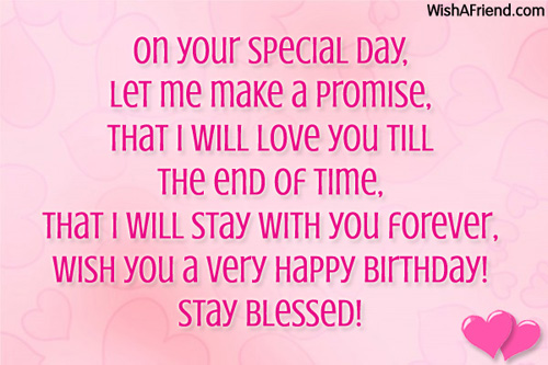 A Very Happy Birthday Stay Blessed Quotes Image