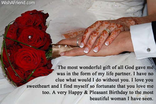 A Very Happy Birthday To The Most Beautiful Woman I Have Seen Beautiful Love Quotes