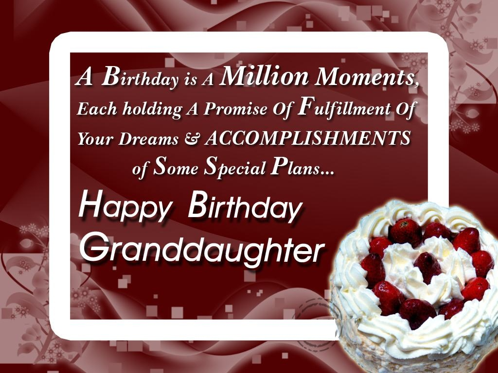A birthday is a million moments each holding a promise of fulfilment of your dreams