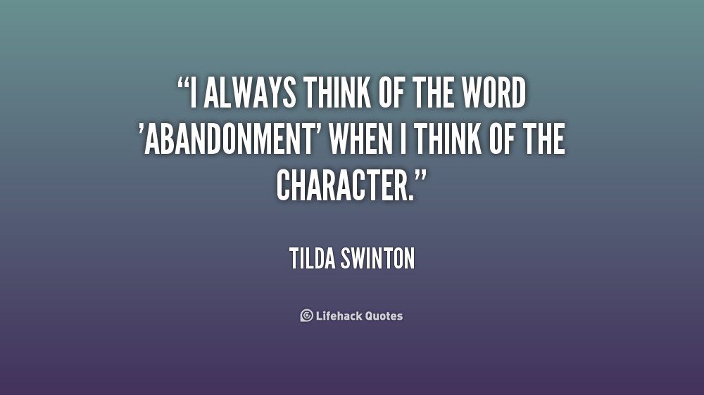Abandonment Quotes Sayings 013