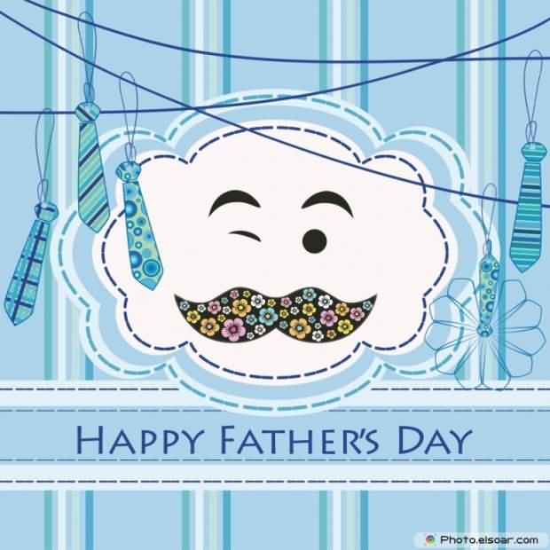 Amazing Happy Father's Day Greetings Image