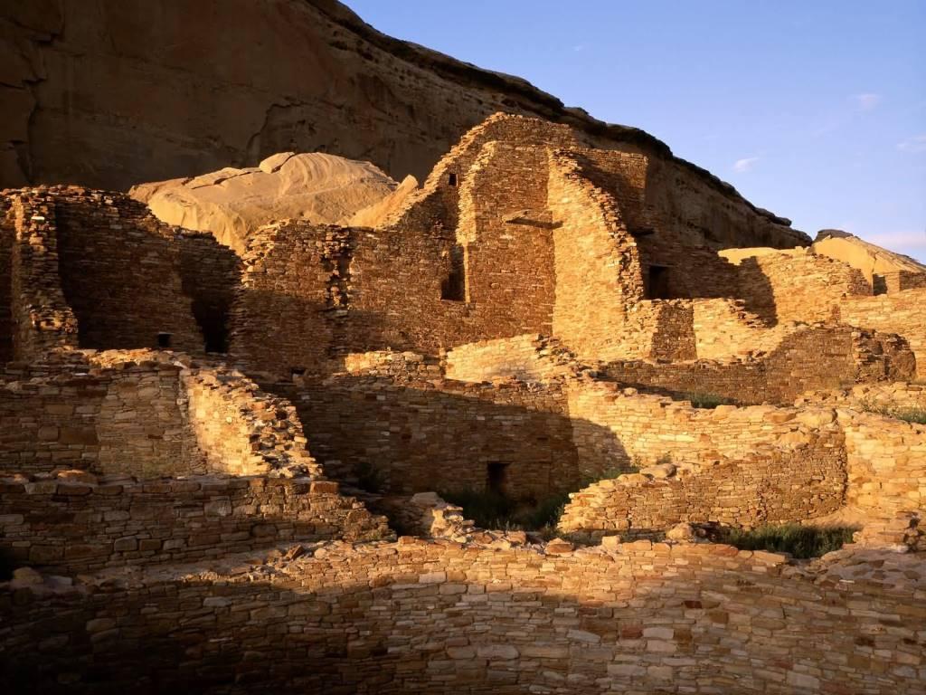 Amazing Pueblo Bonito Chaco Cultural Natural Historic Park New Mexico 4K Wallpaper