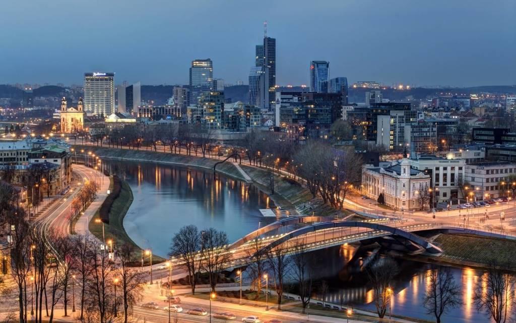 Amazing Vilnius Full HD Wallpaper