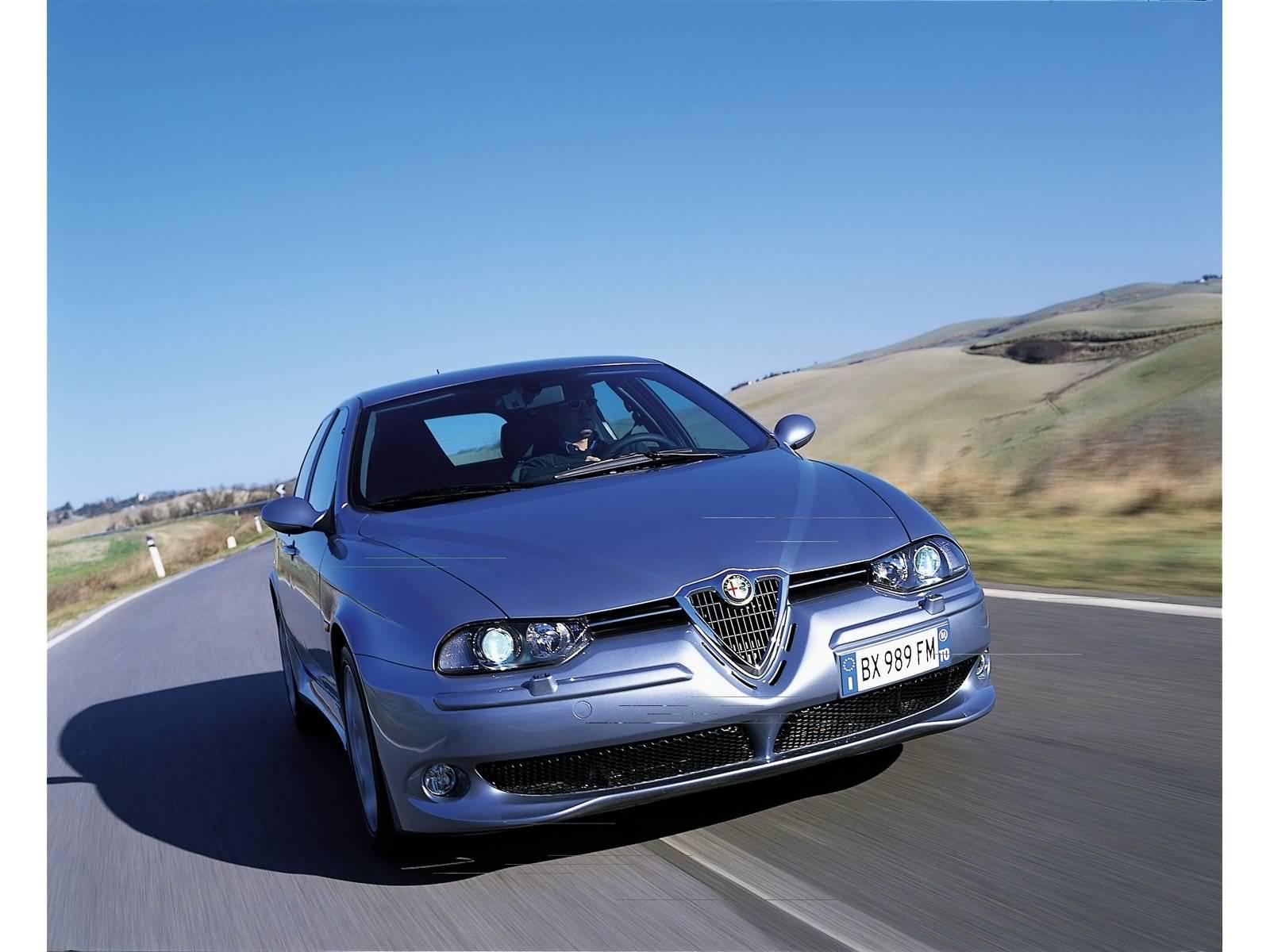Awesome Alfa Romeo 156 GTA Car on the road