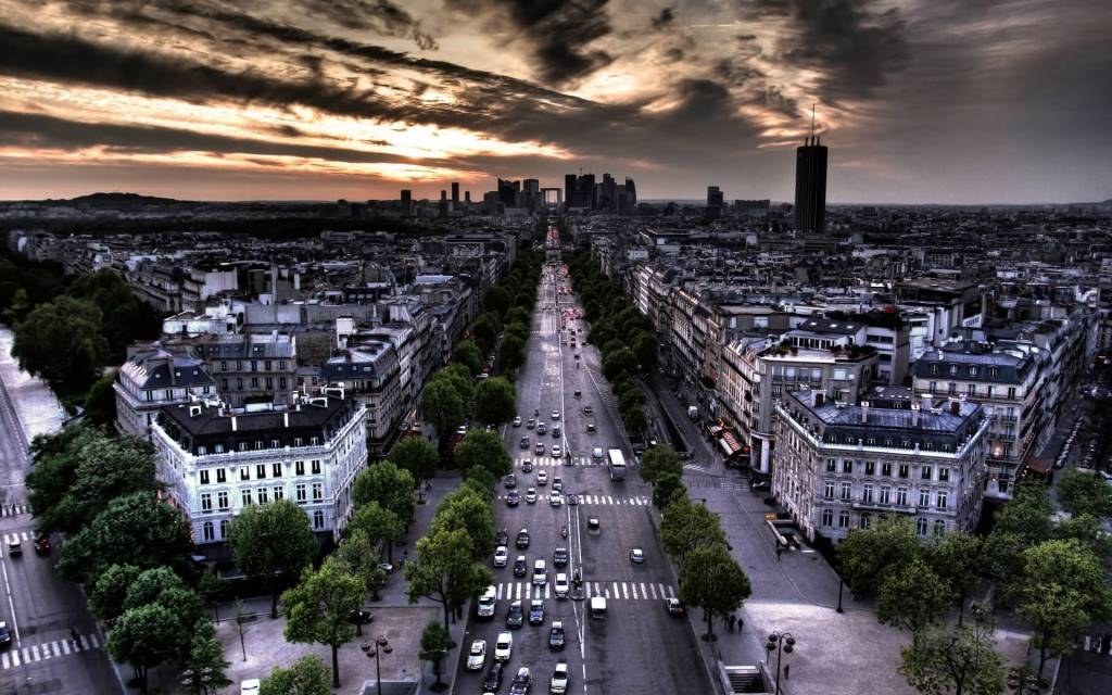 Awesome Paris France Full HD Wallpaper