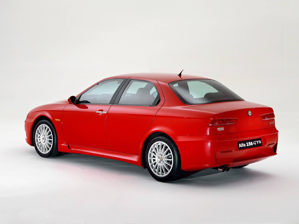 Awesome red colour Alfa Romeo 156 GTA Car