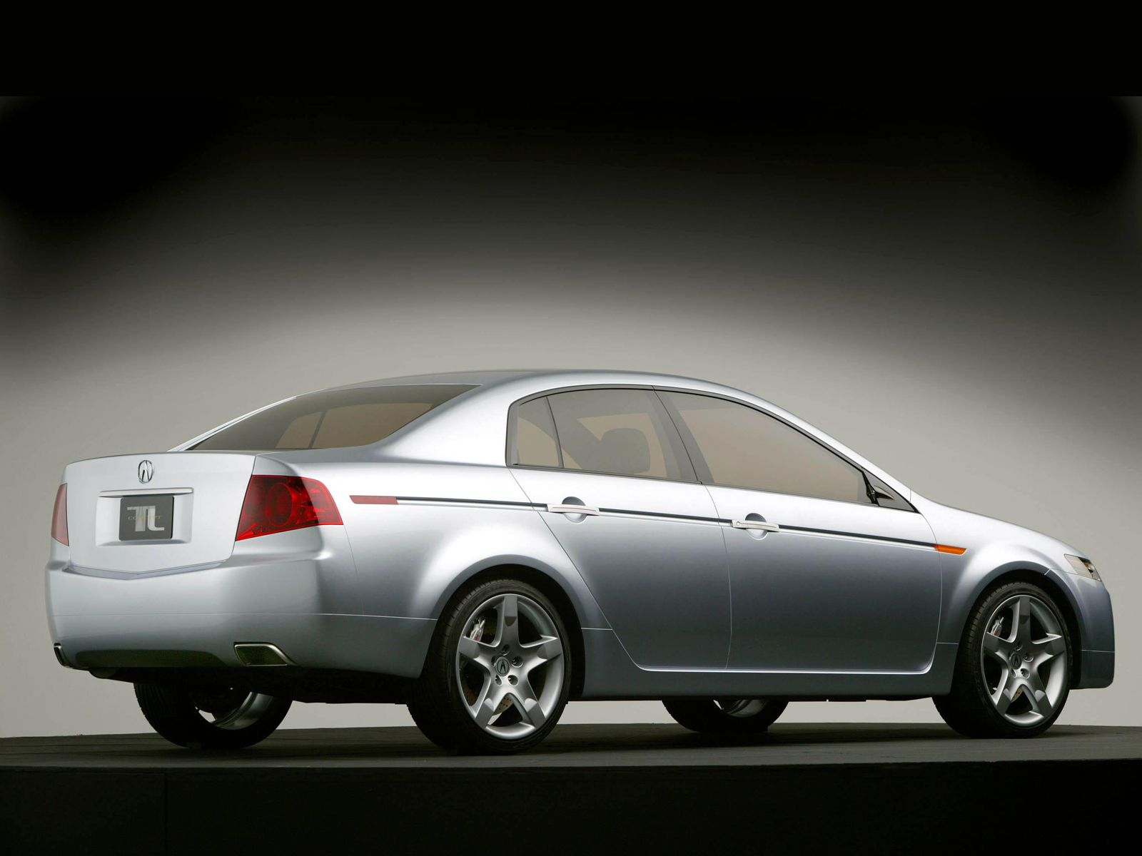 Awesome silver Acura TL Concept Car