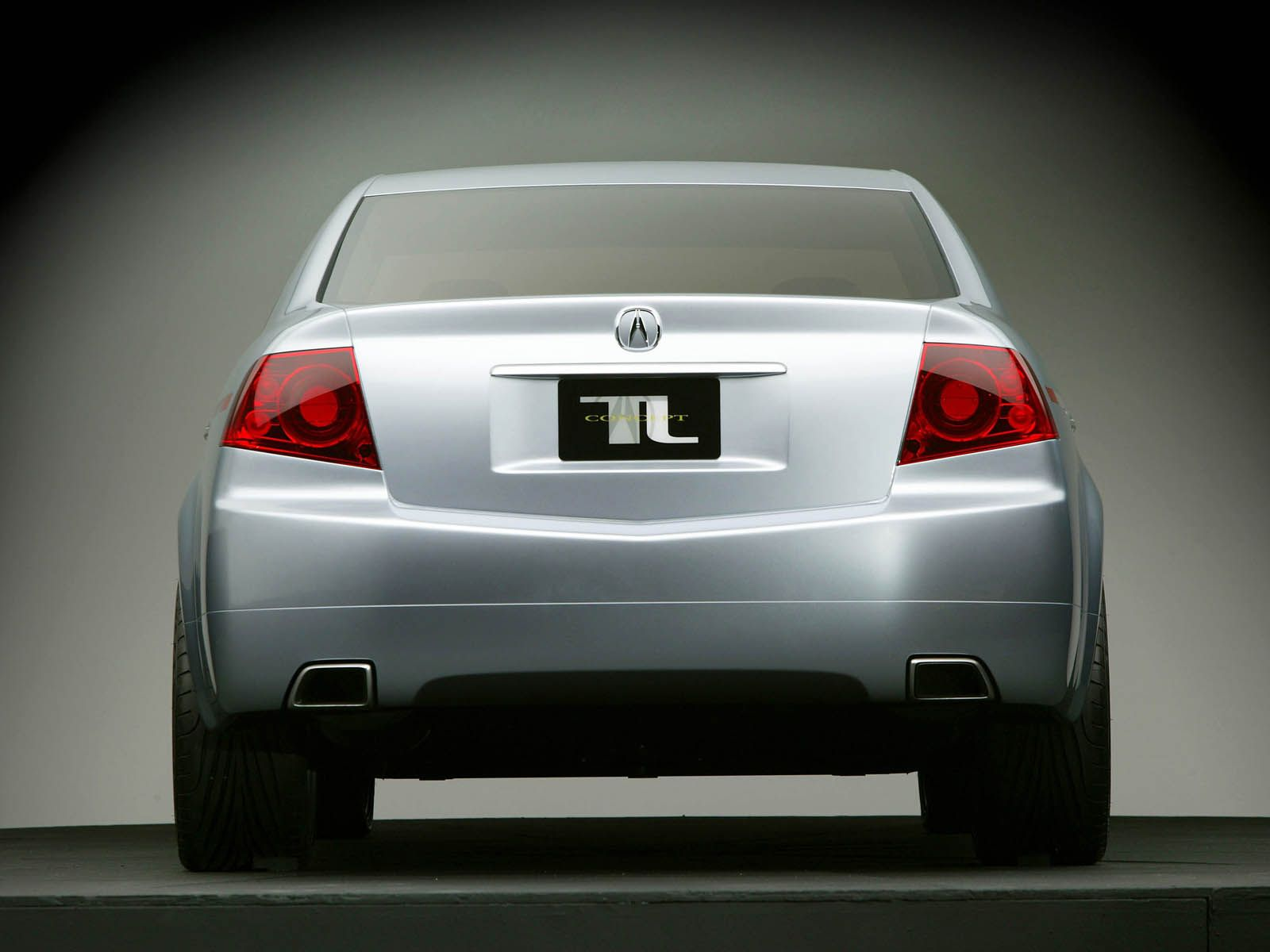 Back side view of awesome Acura TL Concept Car