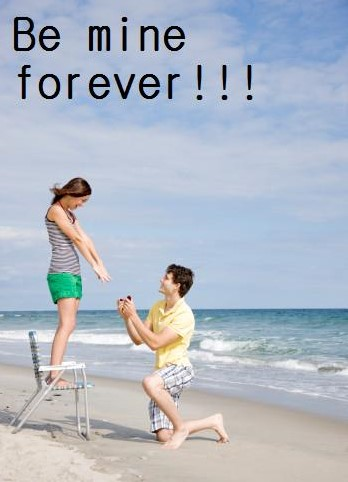Be Mine Forever Happy Propose Day Greetings Image For Facebook