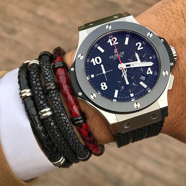 Luxury Watches & Bracelet Beautiful Casual Watch With Black Bracelet