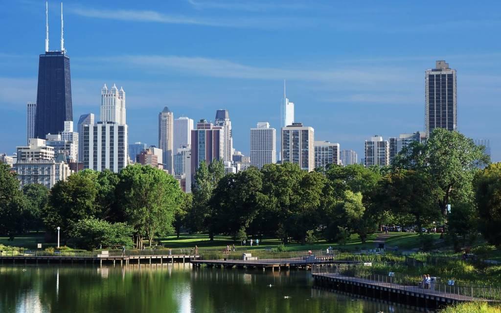 Beautiful Chicago Full HD Wallpaper