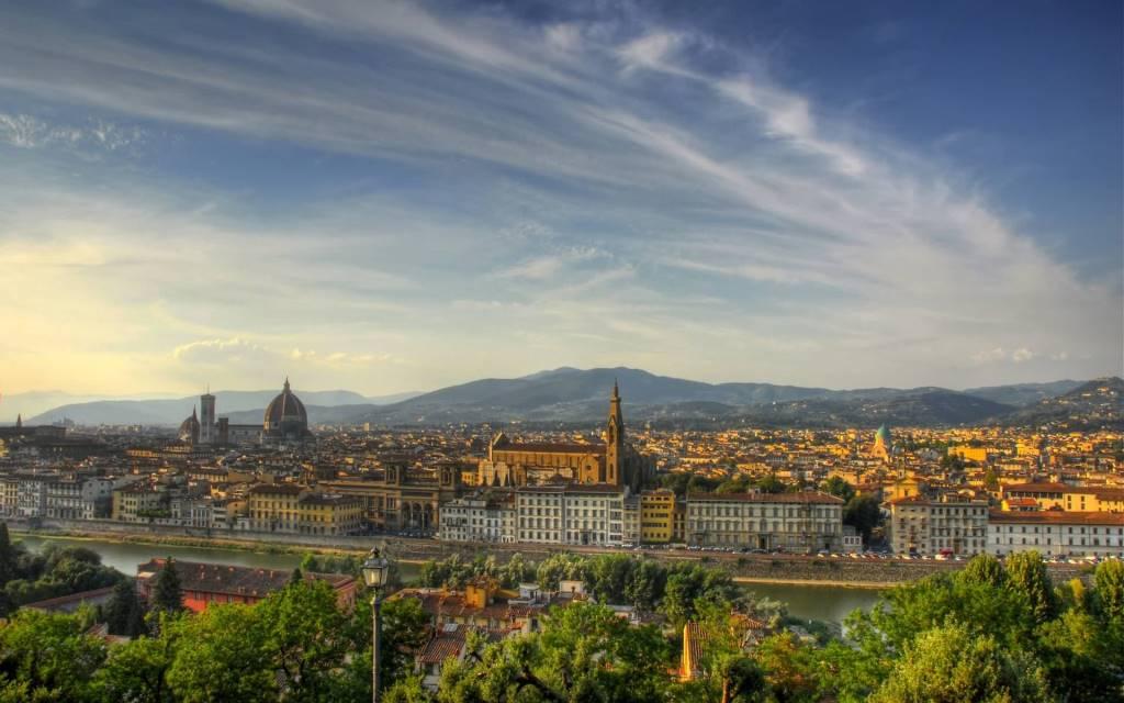 Beautiful Florence Full HD Wallpaper