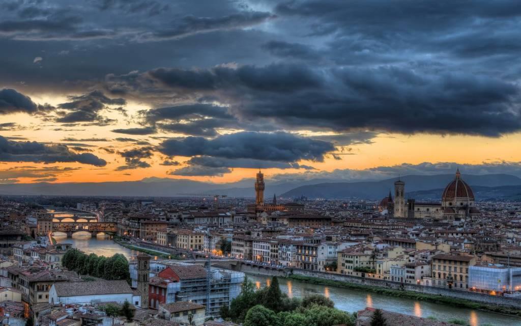 Beautiful Florence Italy Full HD Wallpaper