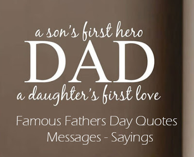 Beautiful Happy Father's Day Quotes Image