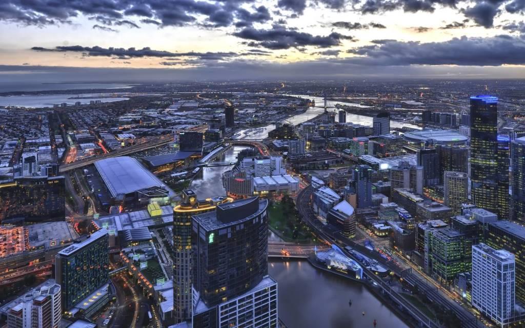 Beautiful Melbourne Australia Full HD Wallpaper