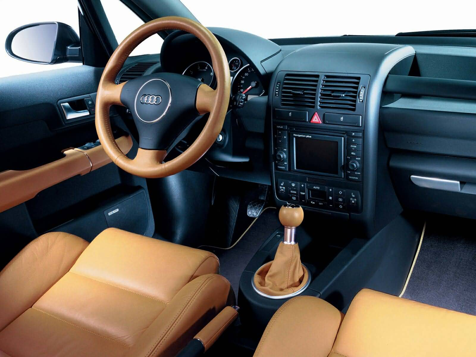 Beautiful inside view of Audi A2 Car