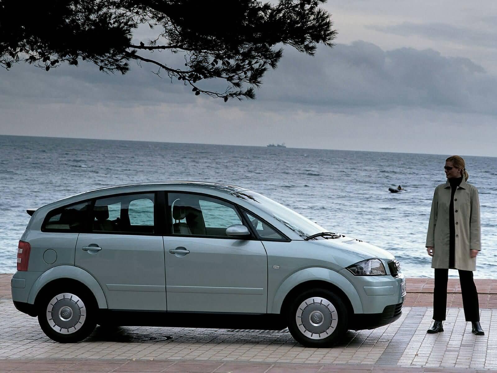 Beautiful view Audi A2 Car