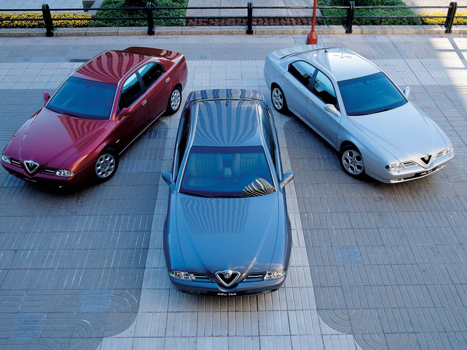 Beautiful three Alfa Romeo 166 Car