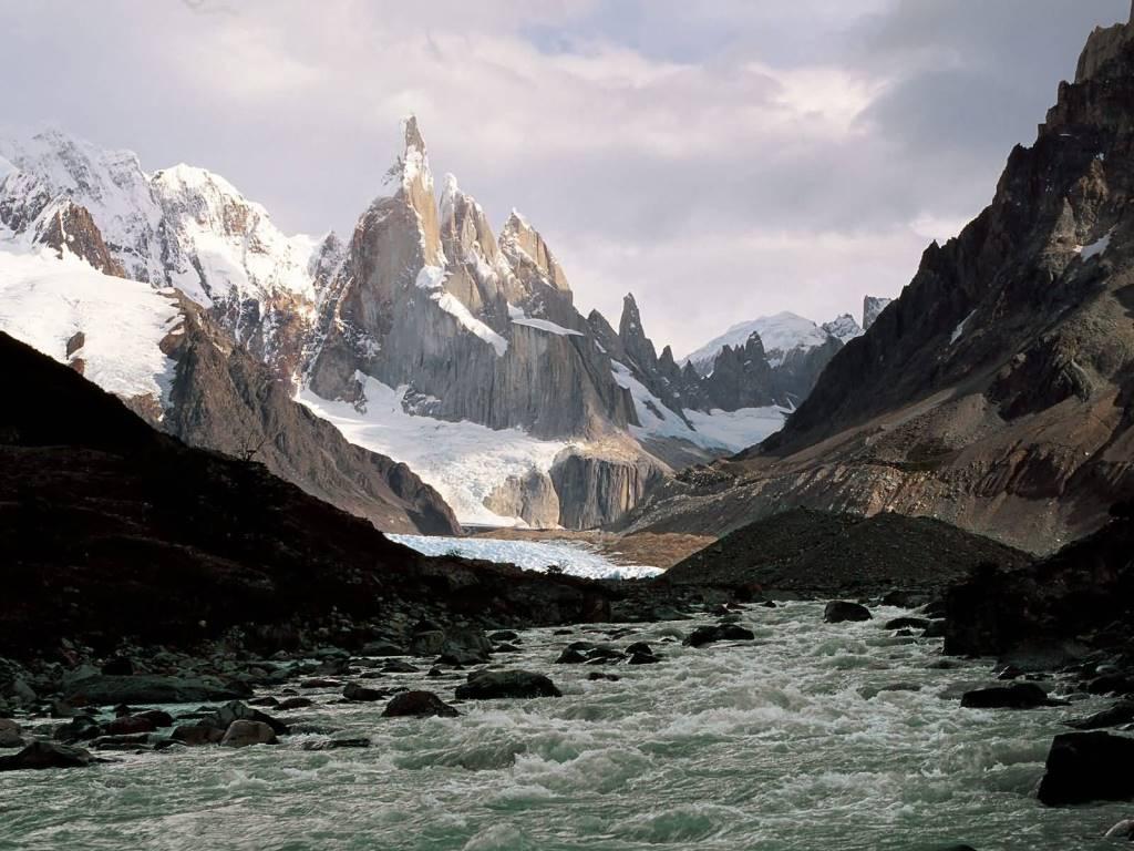 Best Cerro Torre Los Glaciers National Park Patagonia Argentina 4K Wallpaper