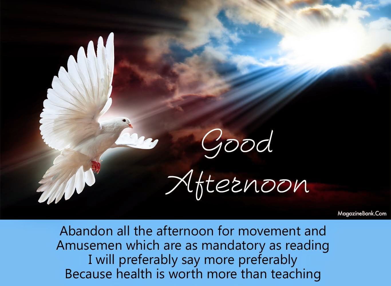 Best Good Afternoon Wishes Quotes Image