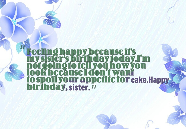 Best Sister Ever Happy Birthday Quotes Image