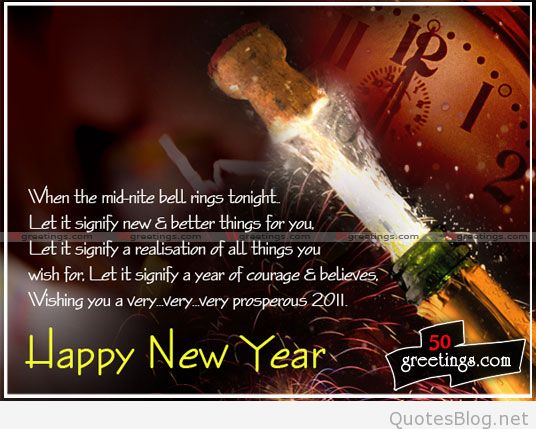 Best Wishes Happy New Year