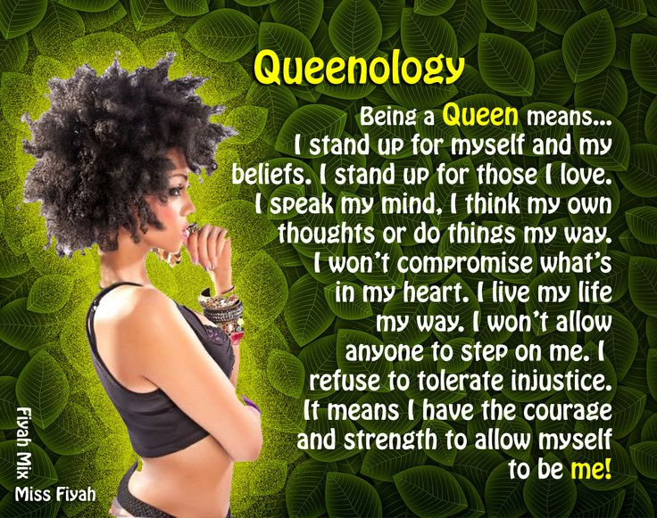 Black Queen Quotes Being a queen