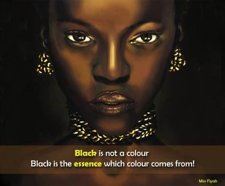 Black Queen Quotes Black is not