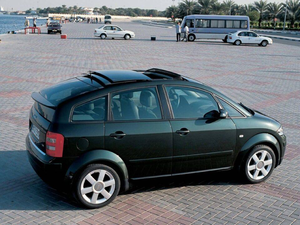 Black amazing Audi A2 car Audi A2 Car Wallpaper