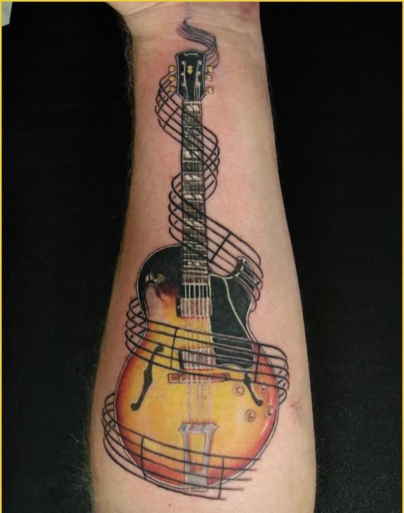 Rock Band Tattoo 008