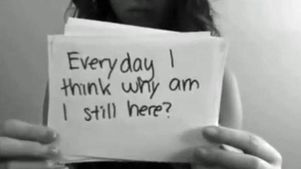 Bullied Quotes Everyday i think why am i still here