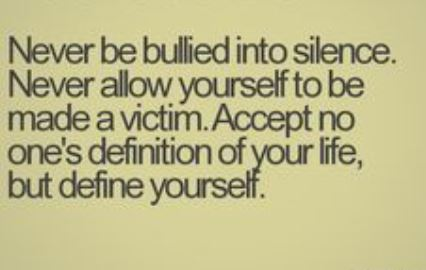 Bullied Quotes Sayings 01