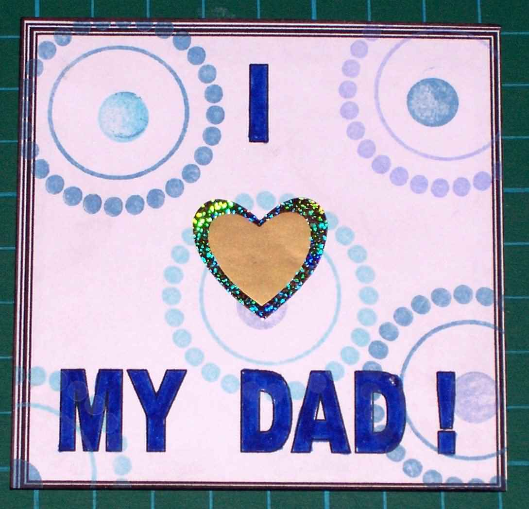 Card For Happy Father's Day Image