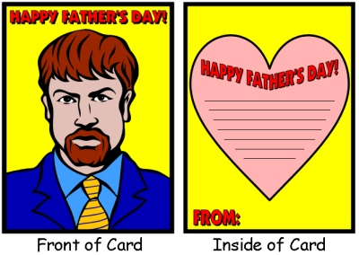 Cool Happy Father's Day Card