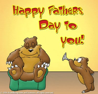 Cute Happy Father's Day Wishes Image