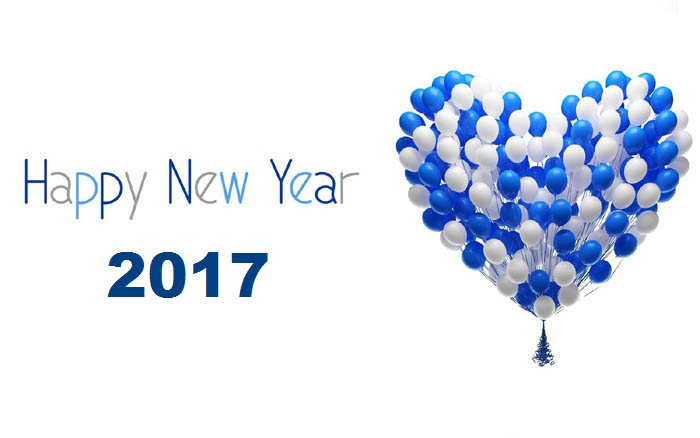 Dear Friends Wish You A Very Happy New Year 2017 Wishes Image